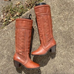 Fossil Below Knee Boots Size 7.5